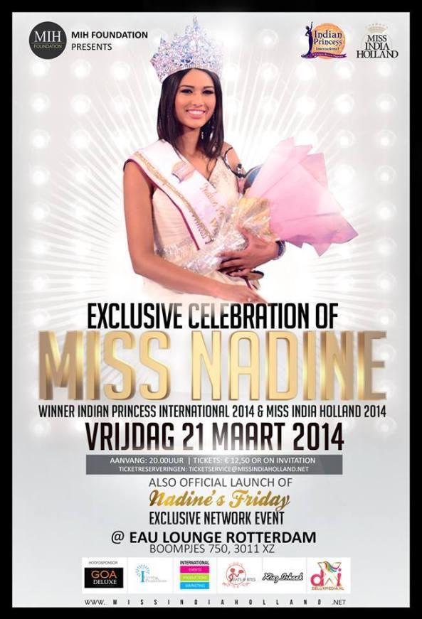 Victory celebration for Nadine Makhanlal