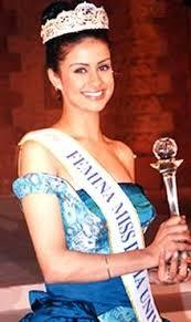 Gul Panag after winning Miss India 1999