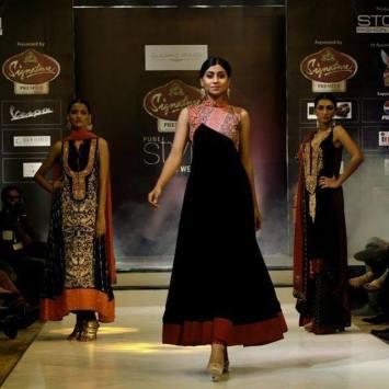 Swati Nanda at Signature Premier Fashion show