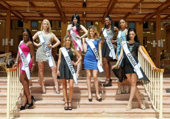 Contestants-Top Model of the World 2014