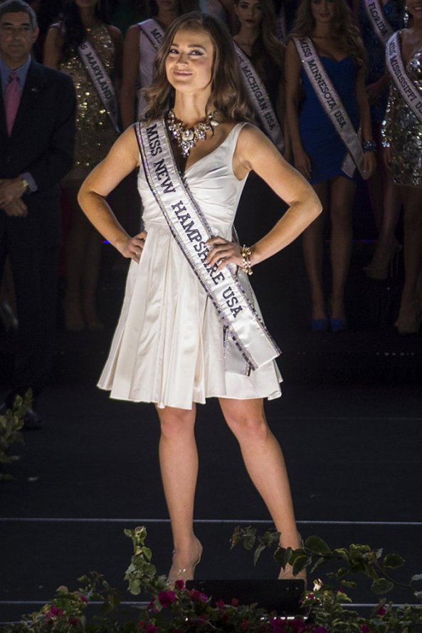 Bridget Brunet, Miss New Hampshire USA 2014