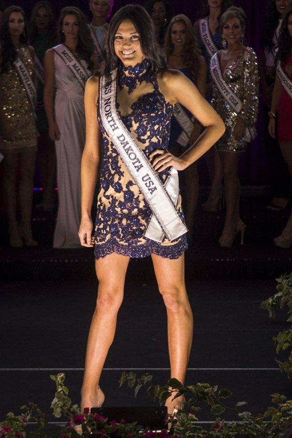 Audra Mari, Miss North Dakota USA 2014