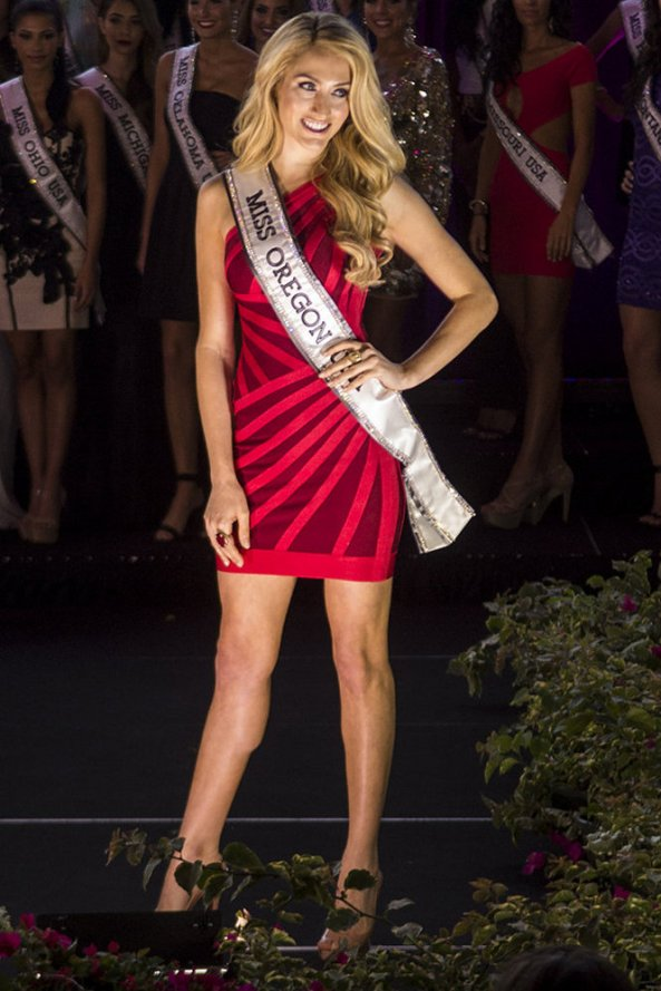 Emma Pelett, Miss Oregon USA 2014
