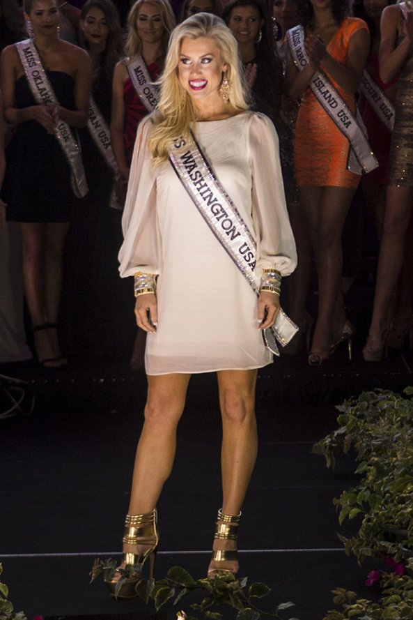 Allyson Rowe, Miss Washington USA 2014