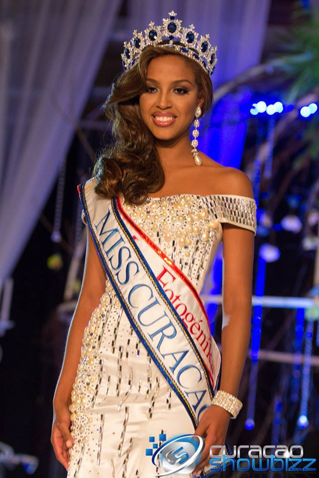 LAURIEN ANGELISTA IS THE NEW MISS UNIVERSE CURACAO 2014