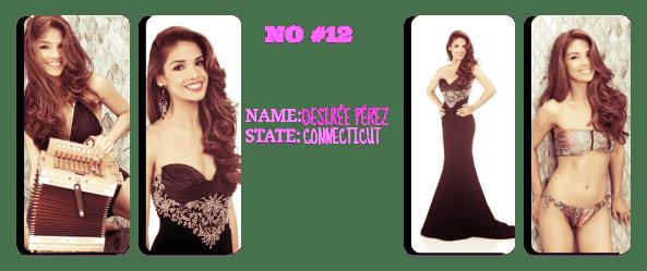 Miss ConnecticutUSA 2014 Desirée Pérez