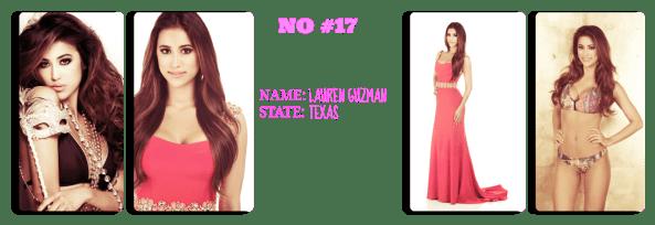 Miss  Texas USA 2014 ~    Lauren Guzman