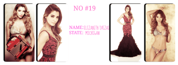 Miss  Michigan    USA 2014 ~Elizabeth Ivezaj