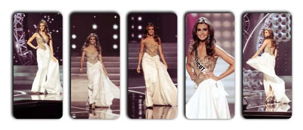 Miss USA 2013 Erin Brady During Evening Gown Round at Miss USA 2013