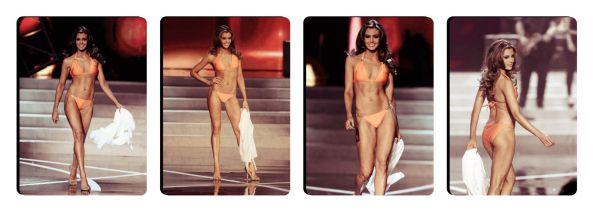 Miss USA 2013 Erin Brady during the Swim Sit Round of Miss USA 2013