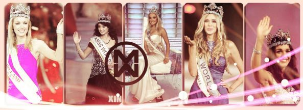 Last Five European winners at Miss World Pageant.