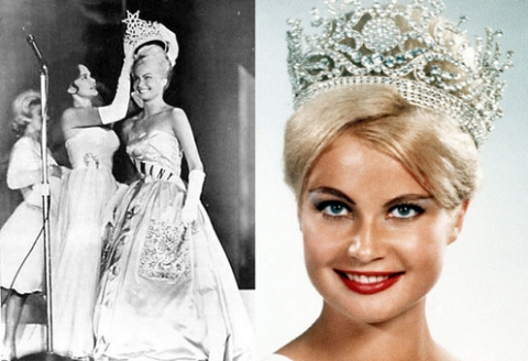 Marlene Schmidt~ Miss Universe 1961 is the only German to win the Coveted crown.