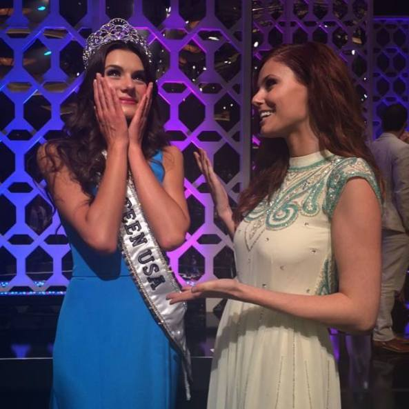 K. Lee Graham with Miss USA 2011
