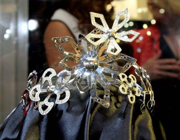 The Crown of Miss South Africa