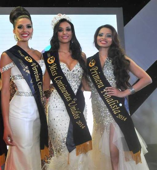 Top 3: Miss Venezuela, Miss Dominican Republic, Miss India