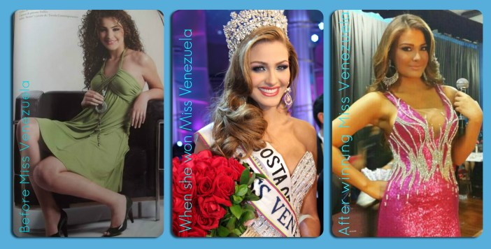 Evolution of Miss Venezuela 2013~  Migbelis Castellanos