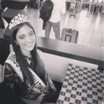 Miss Chile~Tania Dahuabe