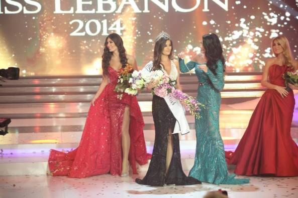 Sally Greige~Miss Lebanon 2014