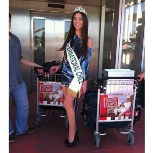 Miss Chile~Tania Dahuabe