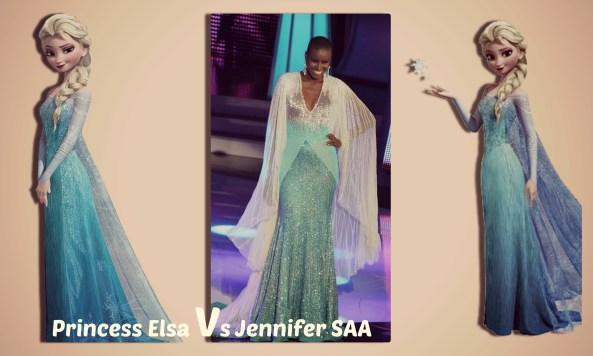 Jennifer Saa VS Princess Elsa