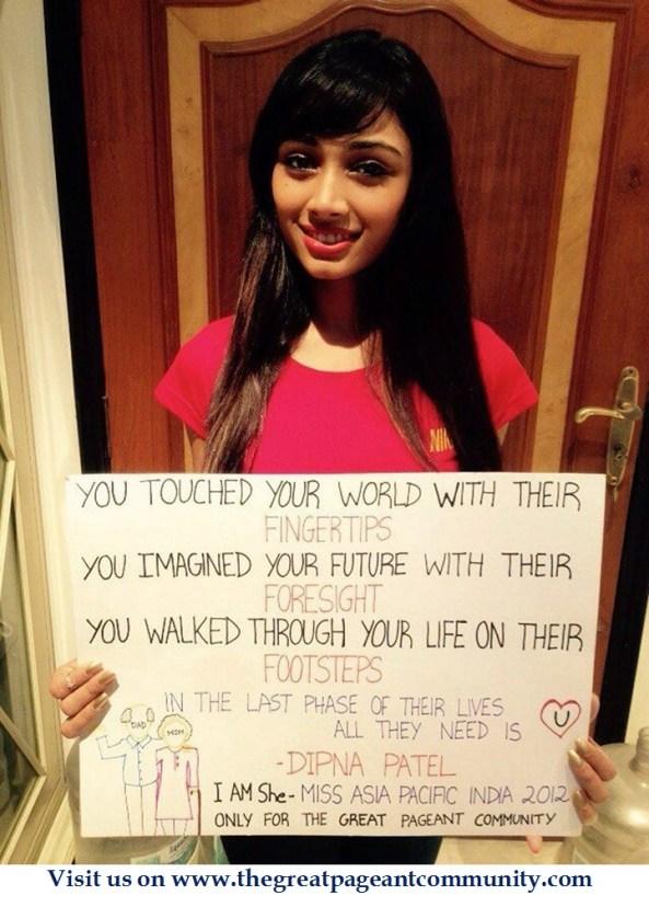 Dipna Patel, I AM SHE 2012 2nd Runner up