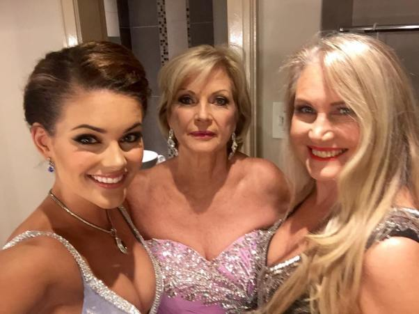 Rolene Strauss, Penny Coelen and Anneline Kriel