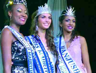 Miss Mauritius 2016 winners