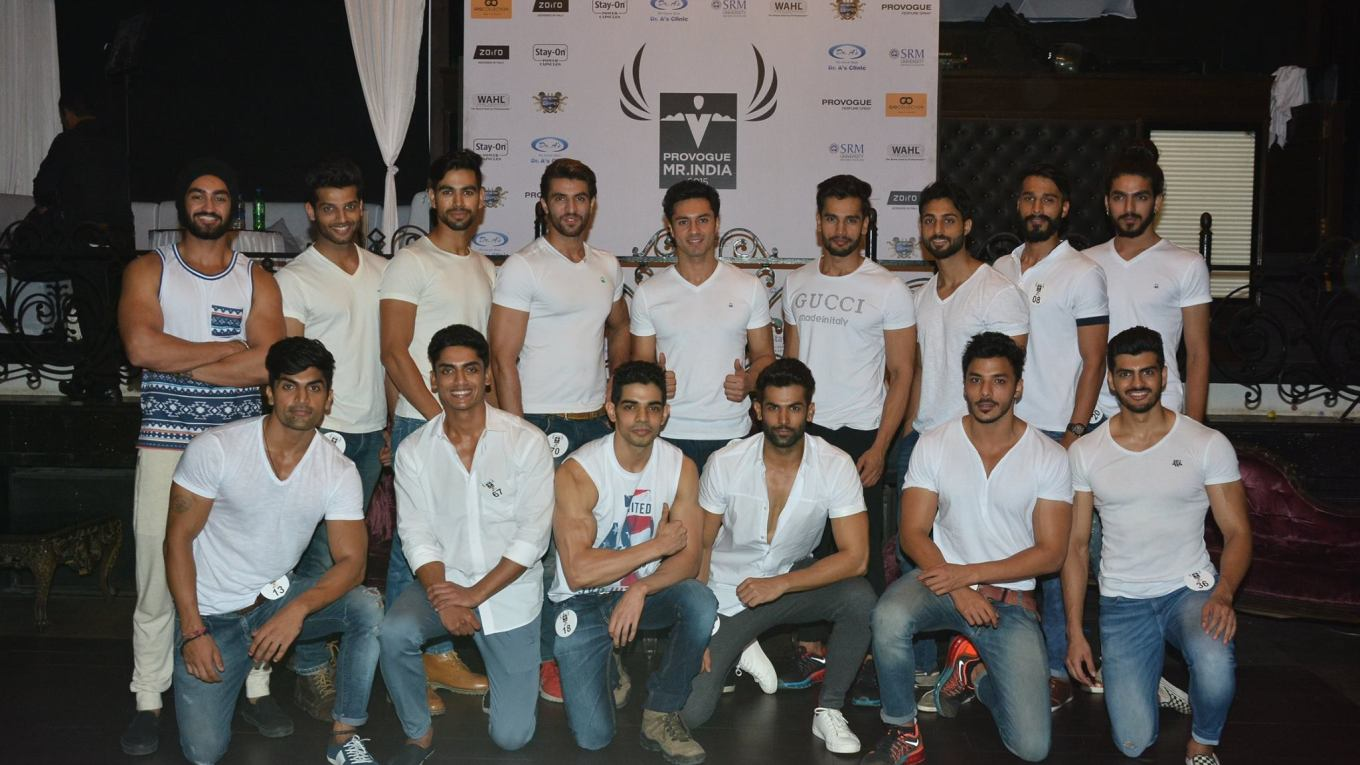 Mr India World 2015 Contestants