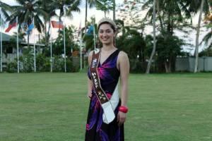 Miss Samoa 2014Latafale Auva'a