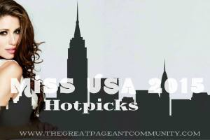 Miss USA 2015 Final Hotpicks