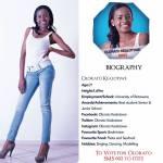 002 Olorato Kealotswe Miss Botswana 2015 Contestants