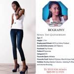 015 Nomsa Gaotlhobogwe Miss Botswana 2015 Contestants