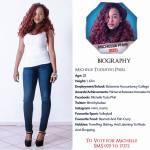 025 Michelle Phiri Miss Botswana 2015 Contestants