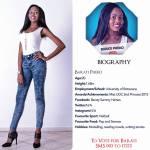 003 Barati Pheko Miss Botswana 2015 Contestants