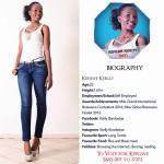 007 Kefilwe Kerlly Miss Botswana 2015 Contestants