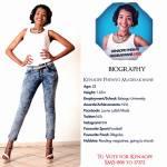 008 Kenaope Madisakwane Miss Botswana 2015 Contestants