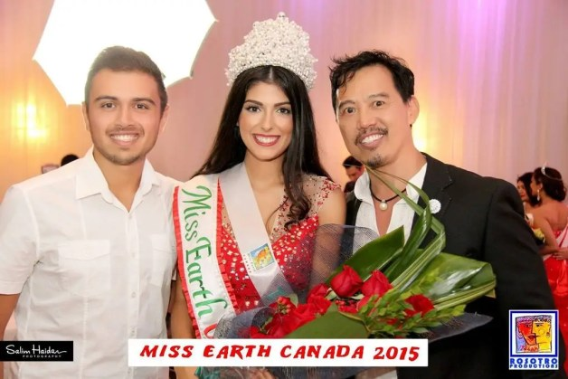 Tatiana Maranhao wins Miss Earth Canada 2015