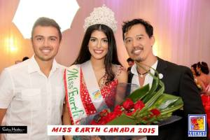 Tatiana Maranhao wins Miss Earth Canada 2015