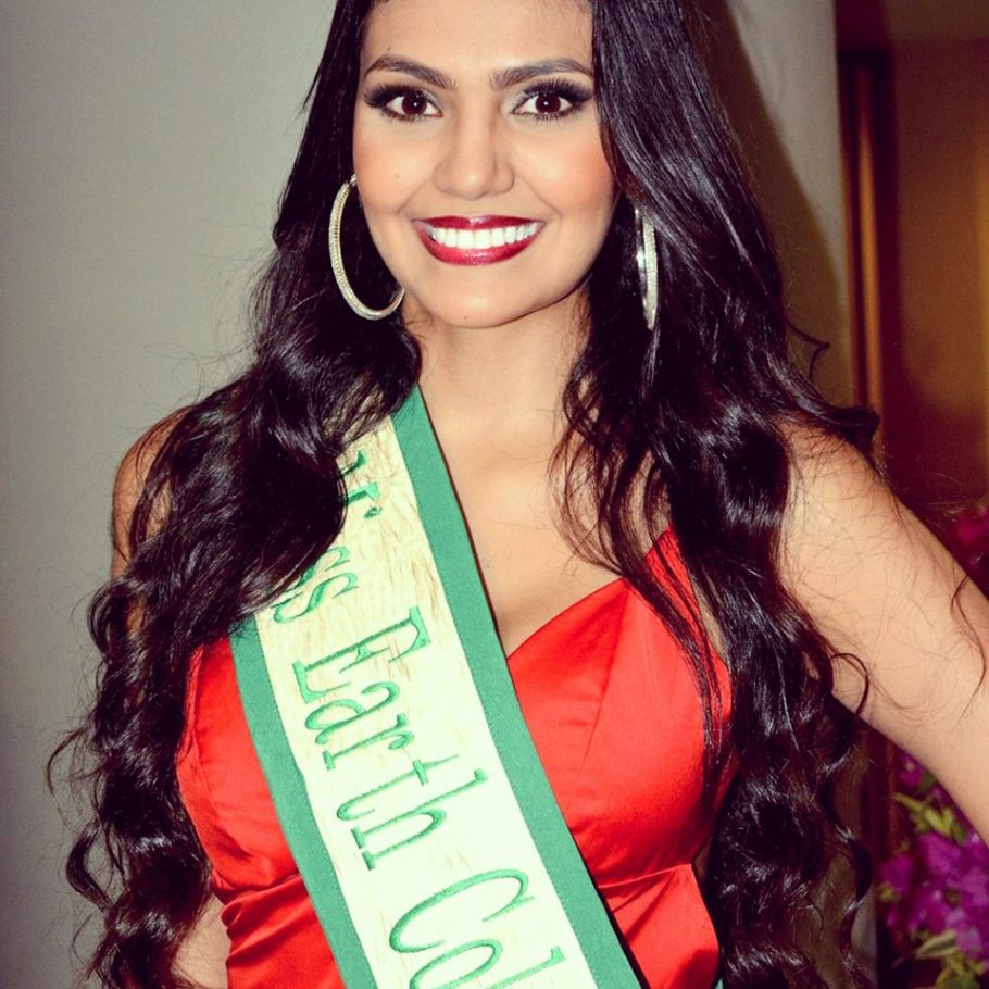 Estefania Muñoz Jaramillo is Miss Earth Colombia 2015