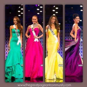 Miss Teen USA 2015 Evening Gown