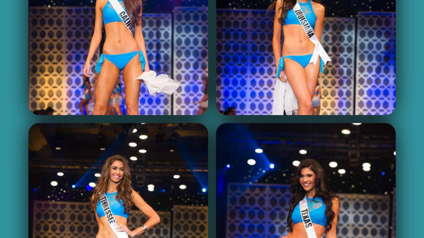 Miss Teen USA 2015 Preliminary Swim Suit Competition