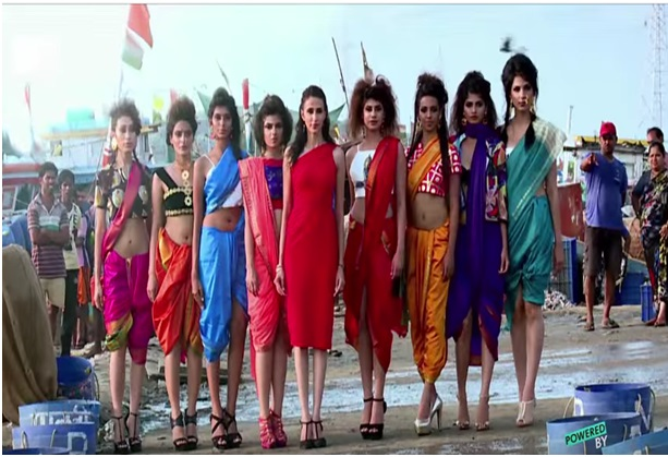 India's Next Top Model Episode 4 Runway Challenge