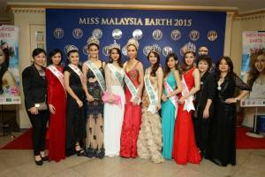 Danielle Wong is crowned Miss Malaysia Earth 2015