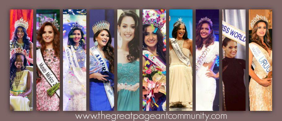 Miss World 2015 Hot Favourites