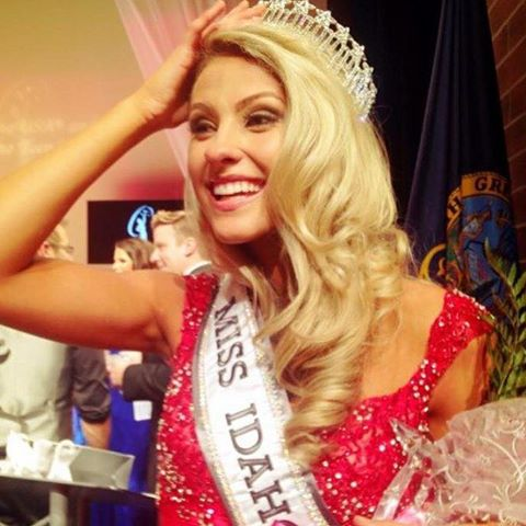 Miss Idaho USA Sydney Halper, Miss Idaho Teen USA Kate Pekuri