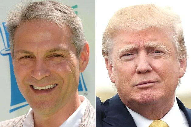 Ari Emanuel of WME/IMG and Donald Trump