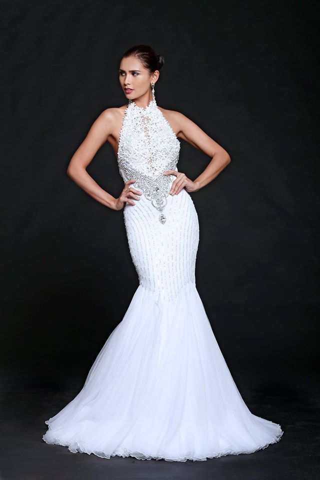 Hillarie Danielle Parungao won the Miss World Philippines crown she will represent Philippines at Miss World 2015
