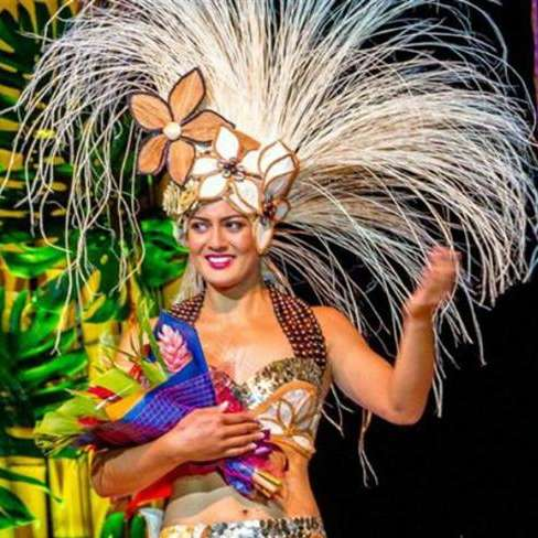 Natalia Short is Miss Cook Islands 2015
