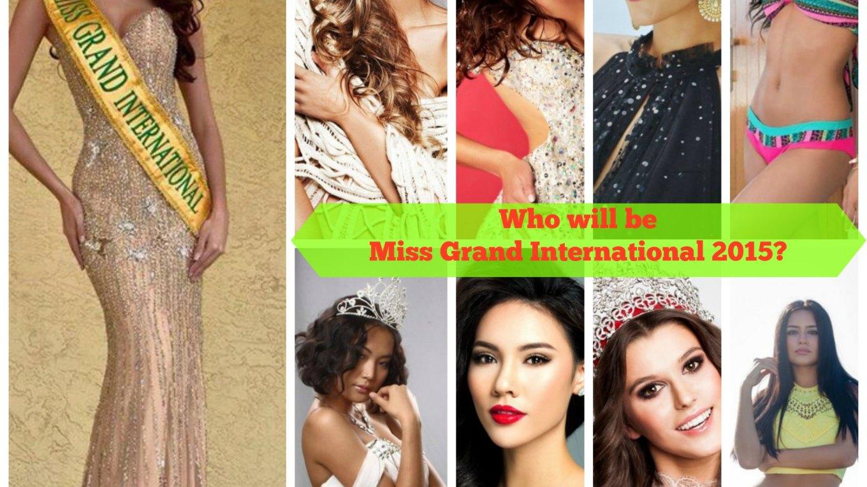 Miss Grand International 2015 Hotpicks