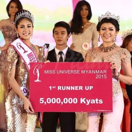Htet Htet Htun is Miss Universe Myanmar 2016